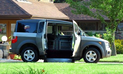 Honda Element Conversion >> Honda Element   Mobility Vans and Equipment   San Diego, CA