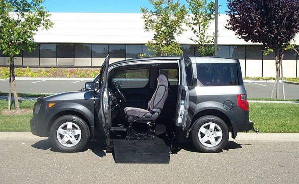 Honda Element Mobility Vans And Equipment San Diego Ca