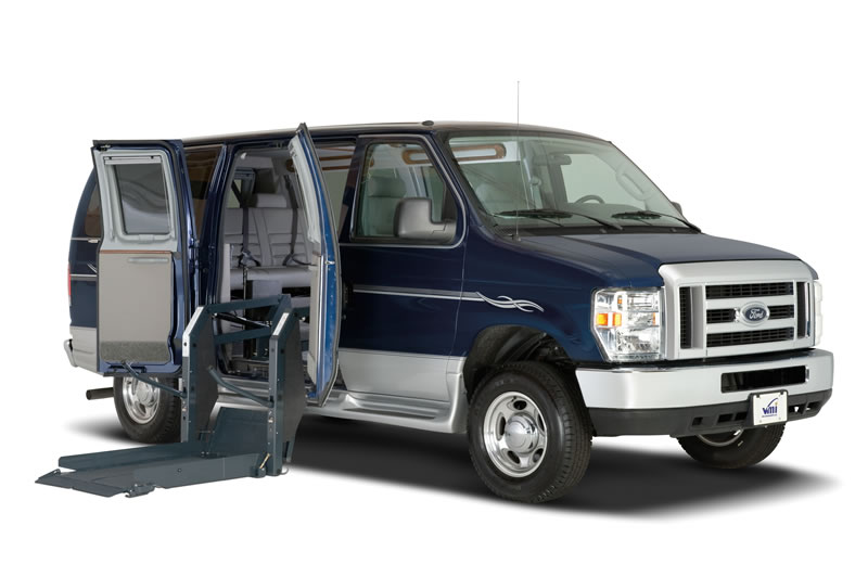 Full size mobility vans and equipment san diego ca - Commercial van interiors san diego ...