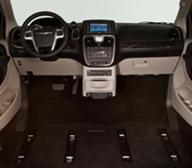 Toyota Sienna Northstar Access360 Obstruction Free Door Way