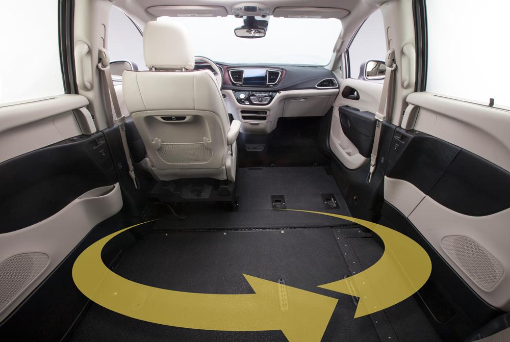 Toyota Sienna Northstar Access360 Obstruction Free Door Way